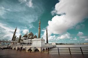 Crystal Mosque (Masjid Kristal) Kuala Terengganu, Terengganu. Malaysia